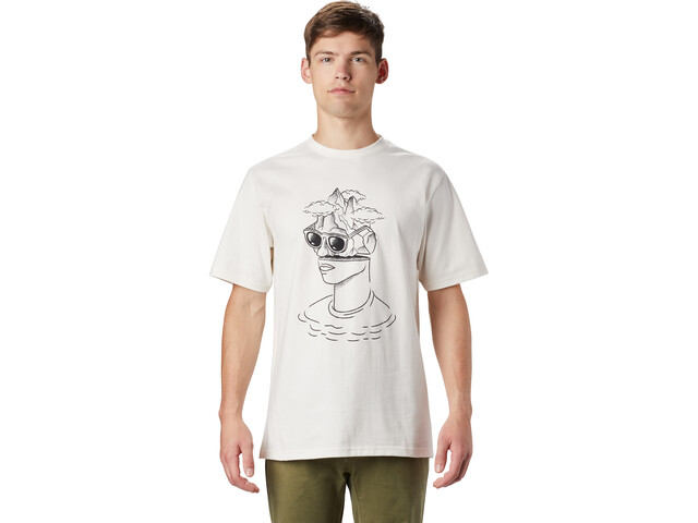 Mountain Hardwear Head in the Cloud Camiseta Manga Corta Hombre, cotton